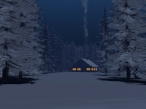 3D winter house desktop wallpapers|free hq hd wallpapers 3D winter house