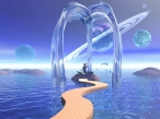 3D liquid ark desktop wallpapers|free hq hd wallpapers 3D liquid ark