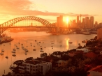 Sun Kissed Sydney  Australia desktop wallpapers|free hq hd wallpapers Sun Kissed Sydney  Australia