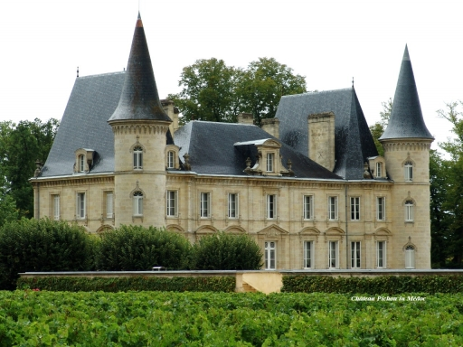 Chateau Pichon in Medoc desktop wallpapers. Chateau Pichon in Medoc free hq wallpapers. Chateau Pichon in Medoc