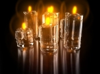 3D candles desktop wallpapers|free hq hd wallpapers 3D candles