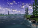 3D river desktop wallpapers|free hq hd wallpapers 3D river
