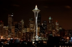 Space Needle Tower in Seattle USA desktop wallpapers|free hq hd wallpapers Space Needle Tower in Seattle USA