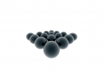 3D black balls desktop wallpapers|free hq hd wallpapers 3D black balls