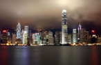 Dark sky over Hong Kong desktop wallpapers|free hq hd wallpapers Dark sky over Hong Kong