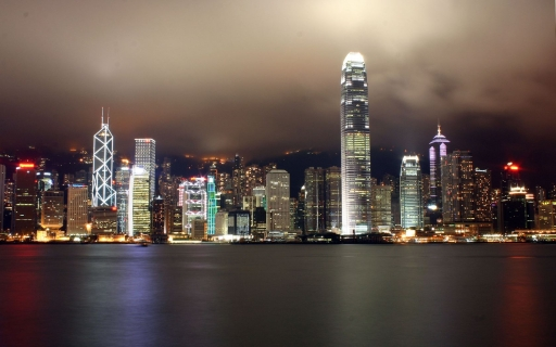 Dark sky over Hong Kong desktop wallpapers. Dark sky over Hong Kong free hq wallpapers. Dark sky over Hong Kong