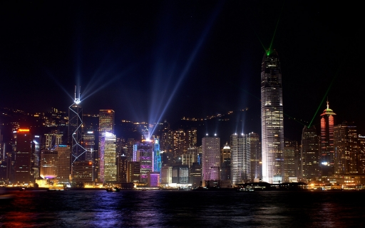 Hong Kong in lights desktop wallpapers. Hong Kong in lights free hq wallpapers. Hong Kong in lights