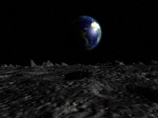 wallpaper earth 3d. 3D to earth from moon