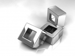 3D metal cube desktop wallpapers|free hq hd wallpapers 3D metal cube
