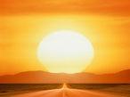 Sunset at road desktop wallpapers|free hq hd wallpapers Sunset at road