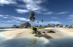 3D island  front side desktop wallpapers|free hq hd wallpapers 3D island  front side