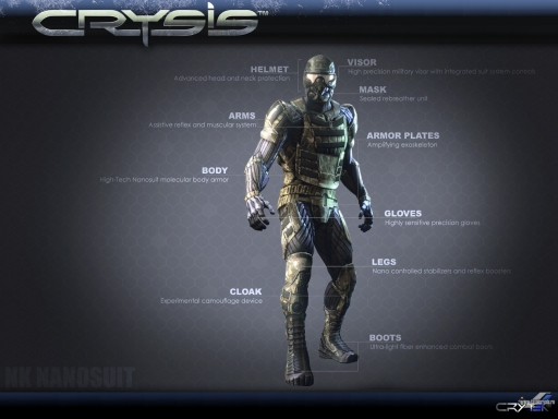 Crysis   Nanosuit desktop wallpapers. Crysis   Nanosuit free hq wallpapers. Crysis   Nanosuit