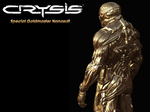 Crysis   Gold Nanosuit desktop wallpapers. Crysis   Gold Nanosuit free hq wallpapers. Crysis   Gold Nanosuit