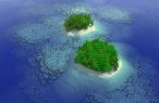 3D islands desktop wallpapers|free hq hd wallpapers 3D islands