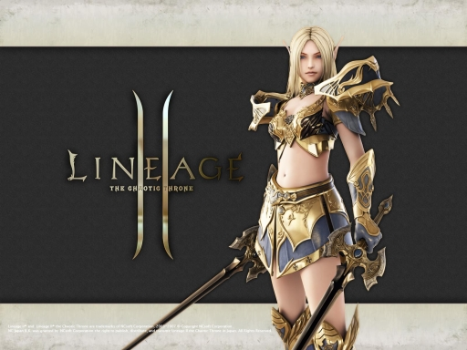 LineageII   Gold warrior desktop wallpapers. LineageII   Gold warrior free hq wallpapers. LineageII   Gold warrior