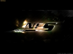NFS Most Wanted orange logo desktop wallpapers|free hq hd wallpapers NFS Most Wanted orange logo