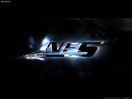 NFS Most Wanted bluelogo desktop wallpapers. NFS Most Wanted bluelogo free hq wallpapers. NFS Most Wanted bluelogo