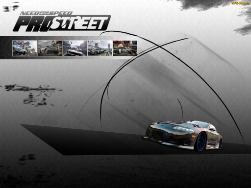 NFS ProStreet black desktop wallpapers. NFS ProStreet black free hq wallpapers. NFS ProStreet black