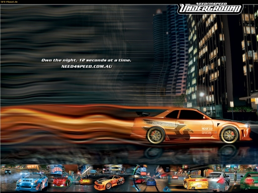 NFS Underground   own the night desktop wallpapers. NFS Underground   own the night free hq wallpapers. NFS Underground   own the night