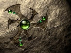3D green eye desktop wallpapers|free hq hd wallpapers 3D green eye