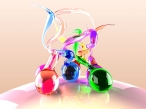 3D glass desktop wallpapers|free hq hd wallpapers 3D glass