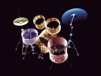 3D drums desktop wallpapers|free hq hd wallpapers 3D drums