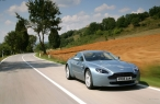Gray Aston martin   side view desktop wallpapers|free hq hd wallpapers Gray Aston martin   side view