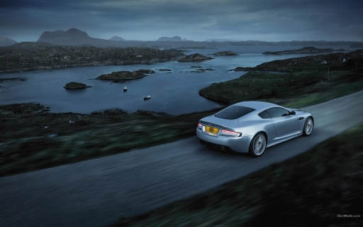 Aston Martin DBS   back side desktop wallpapers. Aston Martin DBS   back side free hq wallpapers. Aston Martin DBS   back side