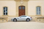 White Aston martin   side view desktop wallpapers|free hq hd wallpapers White Aston martin   side view