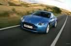 Blue Aston Martin   front view desktop wallpapers|free hq hd wallpapers Blue Aston Martin   front view