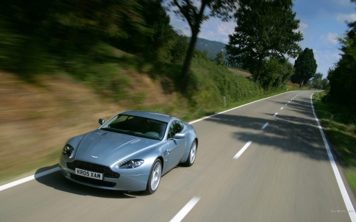 Gray aston martin on road desktop wallpapers. Gray aston martin on road free hq wallpapers. Gray aston martin on road