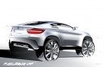 Drawn BMW X6  Concept desktop wallpapers|free hq hd wallpapers Drawn BMW X6  Concept