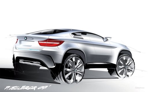 Drawn BMW X6  Concept desktop wallpapers. Drawn BMW X6  Concept free hq wallpapers. Drawn BMW X6  Concept
