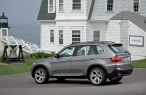 BMW X5 - left side view desktop wallpapers|free hq hd wallpapers BMW X5 - left side view