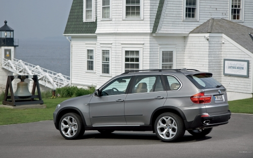 BMW X5 - left side view desktop wallpapers. BMW X5 - left side view free hq wallpapers. BMW X5 - left side view