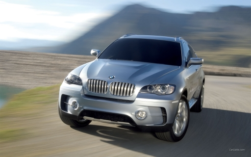Light gray BMW X6 Concept desktop wallpapers. Light gray BMW X6 Concept free
