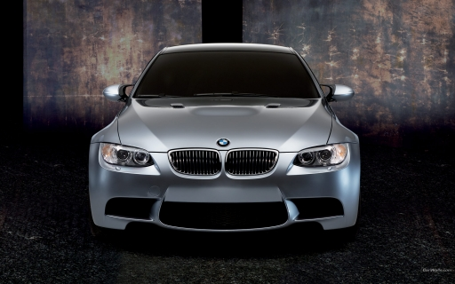 BMW M3 coupe - front view desktop wallpapers. BMW M3 coupe - front view free hq wallpapers. BMW M3 coupe - front view