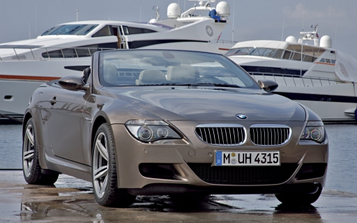 BMW 6M cabrio desktop wallpapers. BMW 6M cabrio free hq wallpapers. BMW 6M cabrio