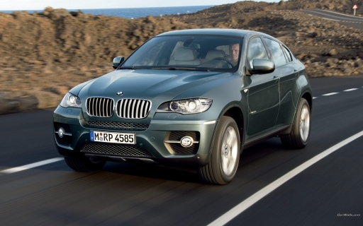 BMW X6 - front view desktop wallpapers. BMW X6 - front view free hq wallpapers. BMW X6 - front view