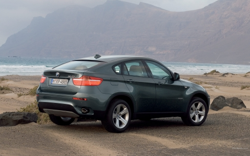BMW X6 - back side desktop wallpapers. BMW X6 - back side free hq wallpapers. BMW X6 - back side