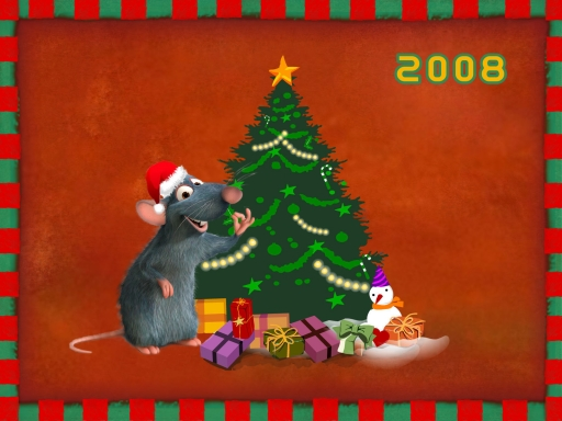 Xmas with Ratatouille desktop wallpapers. Xmas with Ratatouille free hq wallpapers. Xmas with Ratatouille