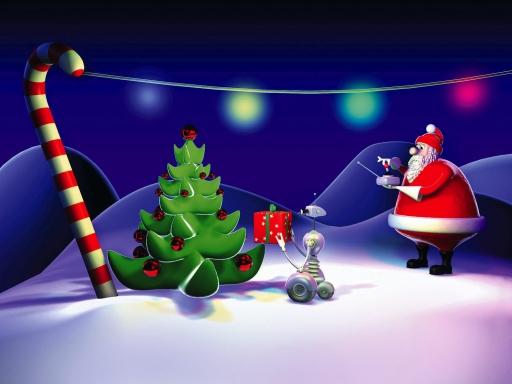 Santa Claus and Hi-Tech desktop wallpapers. Santa Claus and Hi-Tech free hq wallpapers. Santa Claus and Hi-Tech