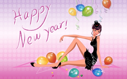 Happy new year desktop wallpapers. Happy new year free hq wallpapers. Happy new year