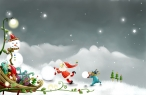 Santa claus work desktop wallpapers|free hq hd wallpapers Santa claus work