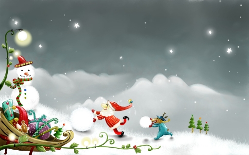 Santa claus work desktop wallpapers. Santa claus work free hq wallpapers. Santa claus work