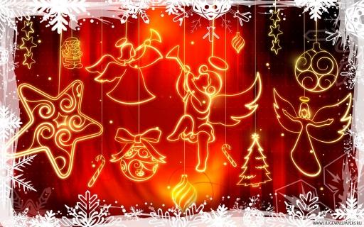 Xmas angels desktop wallpapers. Xmas angels free hq wallpapers. Xmas angels