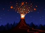 Volcano of Gifts desktop wallpapers|free hq hd wallpapers Volcano of Gifts