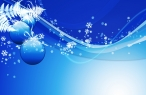 Blue xmas toys desktop wallpapers|free hq hd wallpapers Blue xmas toys