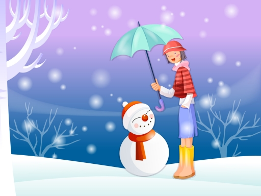 Snowman desktop wallpapers. Snowman free hq wallpapers. Snowman