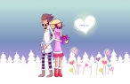 Winter love desktop wallpapers|free hq hd wallpapers Winter love